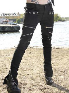 Pantalon rock punk Vixxsin (Evil Clothing) chez rockangehell.com