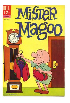 Mister Magoo comic book (and TV Series - costumes and animation likey :) - Old Comic Books, Vintage Comic Books, Vintage Cartoon, Vintage Comics, Comic Book Covers, Classic Cartoon Characters, Cartoon Tv, Classic Cartoons, Mr Magoo