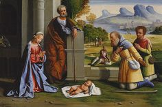 L'Ortolano (Giovanni Battista Benvenuti) (Italian, Ferrarese): The Adoration of the Shepherds (30.95.296) | Heilbrunn Timeline of Art History | The Metropolitan Museum of Art