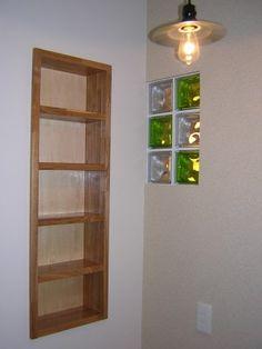 室内のガラスブロック例 | 住宅雑記帳