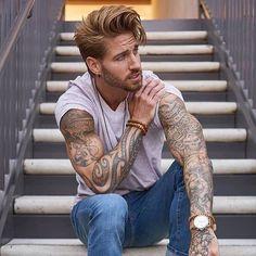 #メンズヘア http://www.99wtf.net/men/inspirations-stylish-mens-hairstyles-thick-hair/
