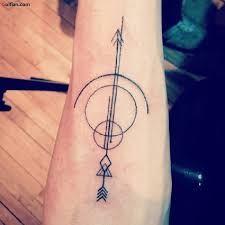 Resultado de imagem para bow and arrow tattoo