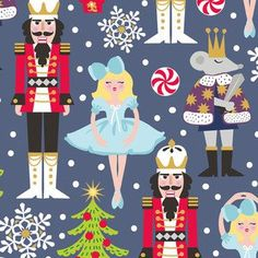 Maude Asbury - Snowflake Waltz - The Nutcracker in Navy