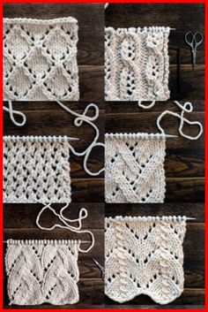Top 34 Lace Knit Stitches - Tutorials - Knitting is as easy as 3 That . Top 34 Lace Knit Stitches – Tutorials – Knitting is as easy as 3 Knitting boils down to t Beginner Knitting Projects, Knitting For Beginners, Easy Knitting, Knitting Patterns Free, Crochet Patterns, Crochet Tutorials, Blanket Patterns, Knitting Ideas, Beginners Sewing