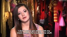 New party member! Tags: tv funny money mom dance moms relationship mother relationships shopping daughter abby lee miller brooke hyland buying kelly hyland abby miller i dont really get along with my mom unless shes buying me stuff