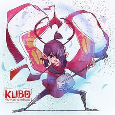 Kubo & the Two Strings Stop Motion Movies, Laika Studios, Kubo And The Two Strings, Japanese Folklore, Natsume Yuujinchou, Pop Culture Art, A Cartoon, Disney Movies, Concept Art