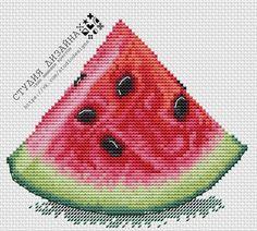 Cross Stitch Fruit, Cross Stitch Kitchen, Cross Stitch Needles, Cross Stitch Flowers, Easy Cross Stitch Patterns, Simple Cross Stitch, Cross Patterns, Cross Stitch Designs, Needlepoint Patterns