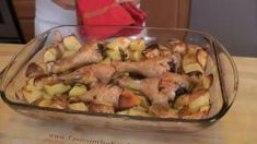 Roasted Chicken and Potatoes Recipe - Laura in the Kitchen - Internet Cooking Show Starring Laura Vitale