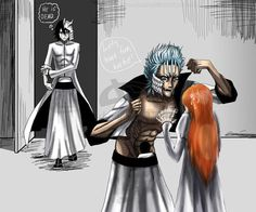 Awesome... Ulquiorra Orihime Grimmjow