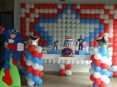 Resultado de imagem para painel de baloes para festa infantil