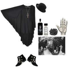 """In the hollow hills"" by morbid-octobur on Polyvore"