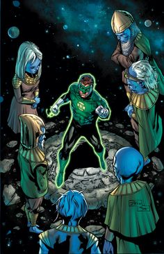 GREEN LANTERN Writers Talk GODHEAD, Say 'Things Will Be Different' Post-CONVERGENCE | Newsarama.com