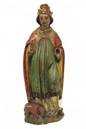 Skulptur Heiliger Silvester 1460 - 1470