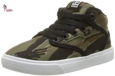 Globe Motley Mid, Chaussures de Skateboard Hommes - Multicolore (Black/Antique), 44 EU (9.5 UK)