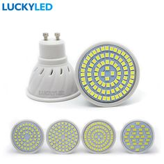 LUCKYLED Bombillas led 3W 4W 5W 6W AC 220V /110V SMD 2835 / 5730 LED Spotlight bulbs GU10 for home Energy Saving Lampada lamp