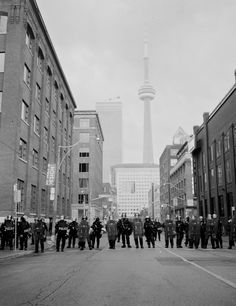G20, Toronto, 2010. Shot handheld with a 4x5 camera.