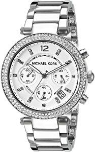 MK5353 Ladies Michael Kors Stainless Steel Stone Set Watch
