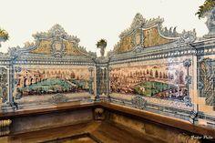 Interior da sala do Capitulo, Mosteiro de Arouca