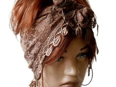 Brown Womens Head Band, Summer Scarf, Scarf Bandana, Lace Hair Band, Head Band, Yoga Band, Bandana, Boho Bandana, Womens Hair Band   The brown headband is stylish. It is ideal for daily life, sports, party, dance, hiking, exercise, yoga. Multipurpose. Hair band, Foulard, Shawl. You can use many options. Clean stitching is done.    COLOR: Brown, Lace   MAINTENANCE INSTRUCTIONS It can be washed at low temperatures.    Deliveries will be sent within 1-3 days of receiving payment. You can track…