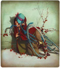 """""""Le bois dormait"""" de Rebecca Dautremer"""