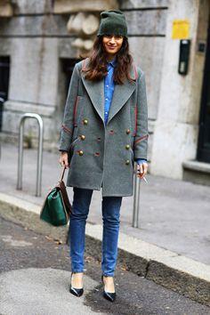 olivemylove:  Street style by Street Peeper