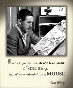 First, there was a mouse...