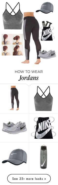 """Gym"" by kamaridenise on Polyvore featuring Marika, Ivy Park and NIKE"
