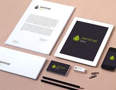 """Check out new work on my @Behance portfolio: """"Zentinel Labs identity"""" http://be.net/gallery/51569043/Zentinel-Labs-identity"""
