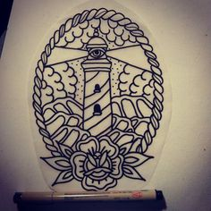 If anybody is down to get this killer all seeing lighthouse tattoo I'll cut you…