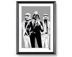 Plakat A3 - Empire Selfie, Star Wars - DrawGeek - Wydruki cyfrowe