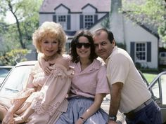 """Shirley MacLaine, Debra Winger, and Jack Nicholson in """"Terms Of Endearment"""" (1983) Jack Nicholson  - Best Supporting Actor Oscar 1983"""