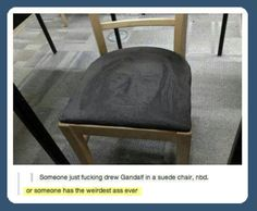 You shall not sit…