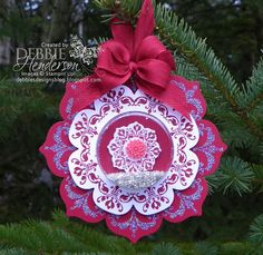 Debbie's Designs: 12 Days of Christmas Ornaments Day #9!