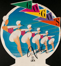 The Go Go's Vacation Promotion Poster 1982 High School Memories, Childhood Memories, Rock Posters, Concert Posters, Classic Rock Albums, 1980s Pop Culture, Rock Album Covers, Cinema, Alvin And The Chipmunks