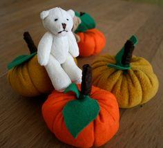Miniature Bear  Small Teddy Bear  Stuffed Toy  by 3lllaHandmade, $17.00