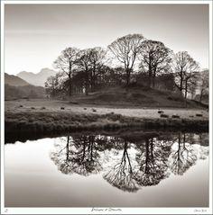 Stillness at Elterwater (via Colin Bell)