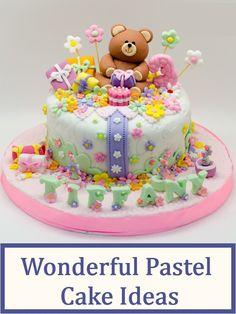 7 Wonderful Pastel Cake Ideas