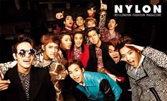 Teen Top and 100% - Nylon Magazine December Issue '13