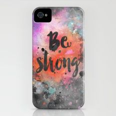 Be Strong iPhone (4, 4s) Slim Case