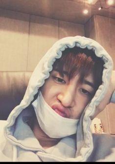 @piyyaw 🐥 Kim Hanbin Ikon, Ikon Kpop, Chanwoo Ikon, Bobby, Ikon Leader, Rapper, Ikon Wallpaper, Cute Faces, Yg Entertainment