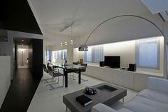 Trendy Wohnung in Schwarz und Weiß: Room 407 Projekt in Tokyo - http://wohnideenn.de/wohnideen/07/trendy-wohnung-in-schwarz-und-weiss.html #Wohnideen