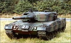 Leopard 2A4, of the German Bundeswehr.