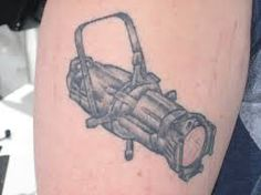 technical theatre tattoos - Google Search