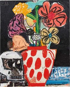View Skull-Life by Eddie Martinez sold at Century & Contemporary Art Day Sale on New York Auction 10 May 2016 . Learn more about the piece and artist, and its final selling price Eddie Martinez, Contemporary Paintings, American Artists, Art Day, Mixed Media Art, Oil On Canvas, Modern Art, Art Drawings, Art Photography