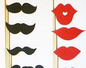 mustaches moustaches mustashe - 100 pcs - die cut  stache bash photo prop wedding little man birthday party confetti. $7.00, via Etsy.