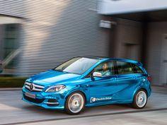 Магазини АУТОТИМ - Пловдив: Mercedes-Benz готви конкурент на BMW i3