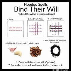 Hoodoo Spells for Binding
