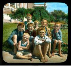 Одесса, группа украинских детей