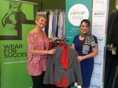 Jodie Aickin, Operations Manager for Wear for Success and Lisa Roberts, TheVenueShop MD - http://specialevents.com.au/2015/10/thevenueshop-helps-unemployed-put-best-foot-forward/# #ProjectSuccess #MakeADifference #Fundraising buy your tickets here - www.rafflink.com.au/QTSydney2015