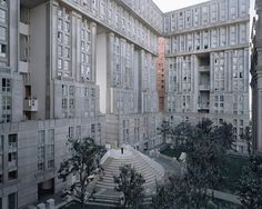 Les Espaces d'Abraxas, Noisy-le-Grand, Paris, Ricardo Bofill's Postmodern Parisian Housing Estate